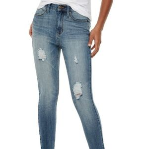 Mudd high Waisted 4 Way Stretch Ankle Jeggings